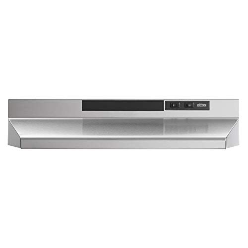 BROAN NuTone F403004 Exhaust Fan for Under Cabinet Two-Speed Four-Way...