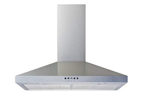 Winflo 30 In. Convertible Stainless Steel Wall Mount Range Hood with...