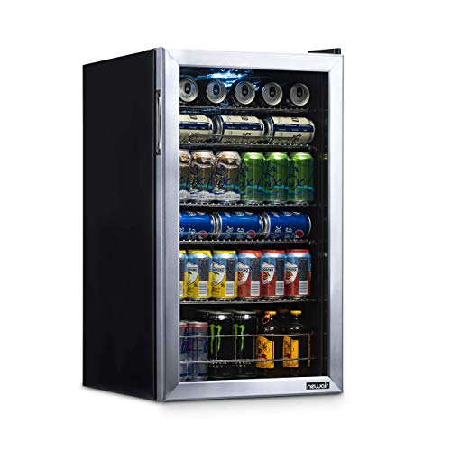 NewAir Beverage Refrigerator Cooler with 126 Can Capacity - Mini Bar...