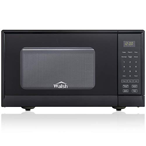 Walsh WSCMSR09BK-09 Countertop Microwave Oven,6 Cooking Programs LED...