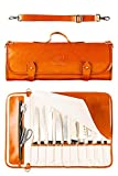 EVERPRIDE Chef Knife Roll Bag Holds 10 Knives and Cooking Tools –...