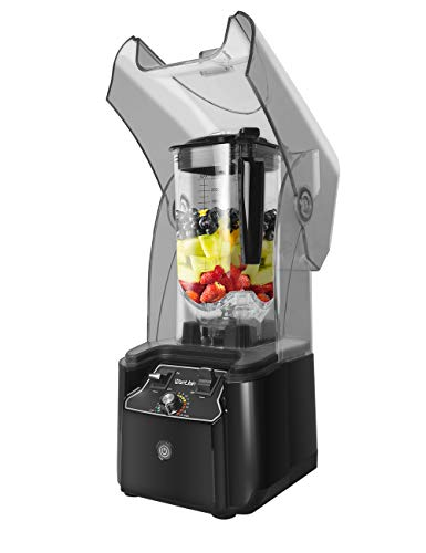 WantJoin Professional Commercial Blender With Shield Quiet Sound...