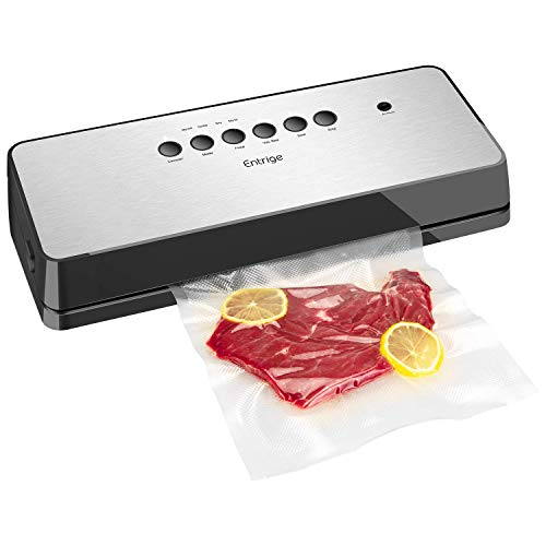 Vacuum Sealer Machine by Entrige, Automatic Food Sealer for Food...