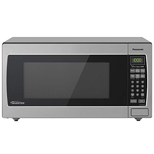 Panasonic Microwave Oven NN-SN766S Stainless Steel Countertop/Built-In...