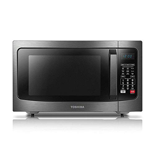 Toshiba EC042A5C-BS Countertop Microwave Oven with Convection, Smart...