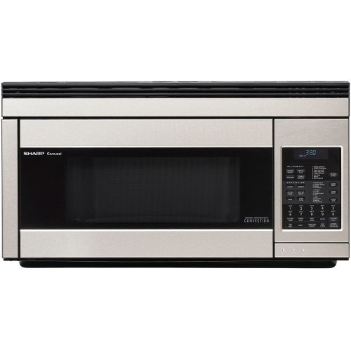 Sharp R1874T 850W Over-the-Range Convection Microwave, 1.1 Cubic Feet,...
