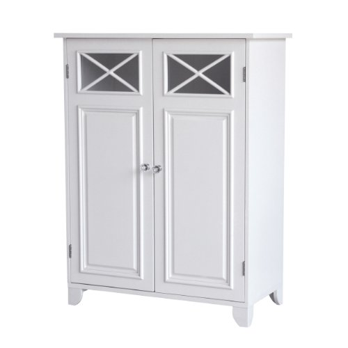 Elegant Home Fashions Dawson Collection Shelved Floor Cabinet