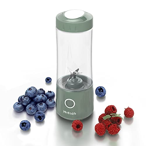 Portable Blender USB Rechargeable, Hotsch Personal Size Blender for...