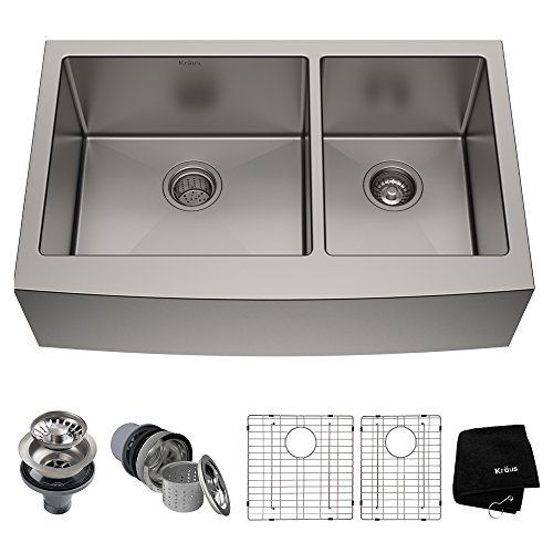 Kraus KHF203-36 Standart PRO Kitchen Stainless Steel Sink, 36 Inch...