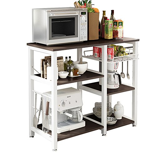 SogesPower 3-Tier Kitchen Baker's Rack Microwave Stand Storage Rack ,...
