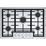 Bosch NGM8055UC 800 30' Stainless Steel Gas Sealed Burner Cooktop