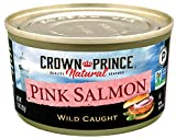 Crown Prince Natural Pink Salmon - Low in Sodium, 7.5-Ounce Cans (Pack...