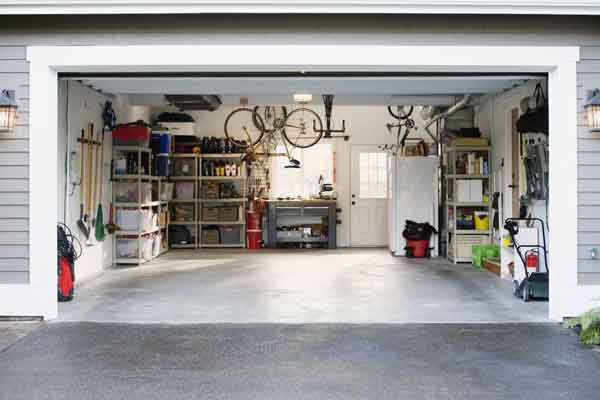 How to organize a garage in a tit budget
